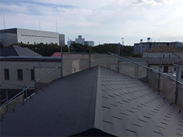 屋根の葺き替え完了
